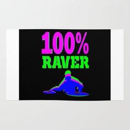 100% RAVER Rug