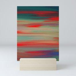 Colored lucid Mini Art Print