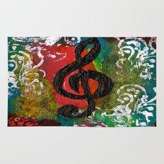 Create Music  Rug
