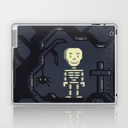 Skeleton boy artwork Laptop & iPad Skin