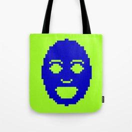 Pixel Face Tote Bag