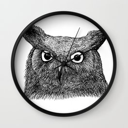 The Eyes of Wisdom Wall Clock