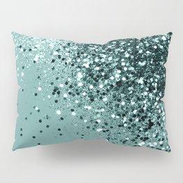 Teal Mermaid Ocean Glitter #1 #shiny #decor #art #society6 Pillow Sham