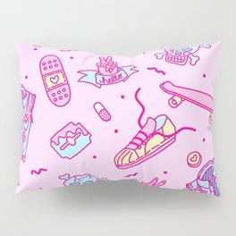 Pink Punk Pillow Sham