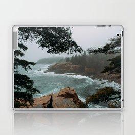 Foggy Morning in Acadia National Park Laptop & iPad Skin