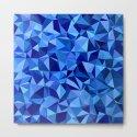 Blue tile mosaic by davidzydd_geom