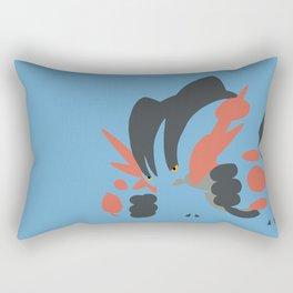 Mega Swampert Rectangular Pillow