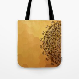 Ethnic Mandala Tote Bag