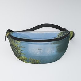 Germany, Malerblick, Koenigssee Lake III- Mountain Forest Europe Fanny Pack