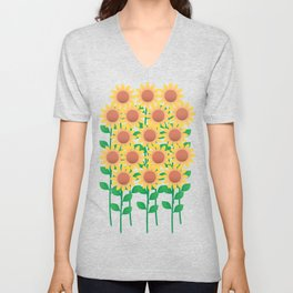 Sunflower_A Unisex V-Neck