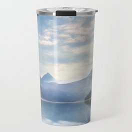Wanderlust - Mountains, Lake, Forest Travel Mug