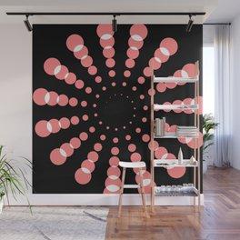 simple light spiral Wall Mural
