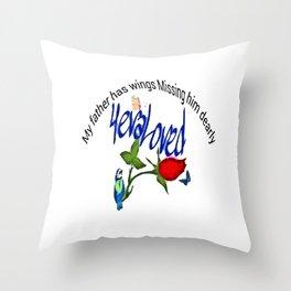 Cabsink16DesignerPatternMMFW Throw Pillow