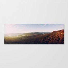The Burning Sunset Canvas Print