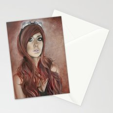 Vivian - Steam Girl Stationery Cards
