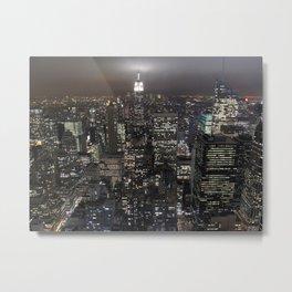New York Souvenir Metal Print