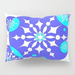 A Delightful Winter Snow Design Pillow Sham