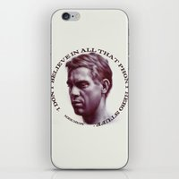 steve mcqueen iPhone & iPod Skins featuring Steve McQueen by RSassi