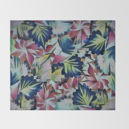 Floral Mix Up Throw Blanket
