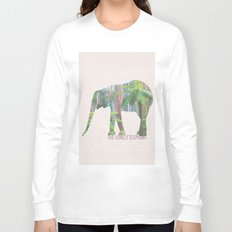 The Lonely Elephant Long Sleeve T-shirt