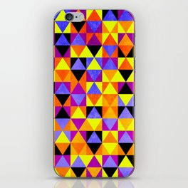 Triangles II iPhone Skin