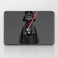 darth iPad Cases featuring Kokeshi Darth  by Pendientera