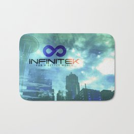 Space Needle - Infinitek Headquarters Seattle Bath Mat