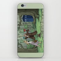 hallion iPhone & iPod Skins featuring Visions are Seldom all They Seem by Karen Hallion Illustrations