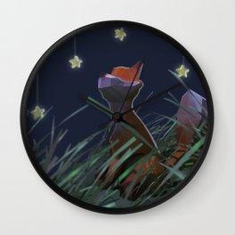 The Little Prince -Fox Wall Clock
