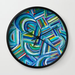 Jasper in July Wall Clock