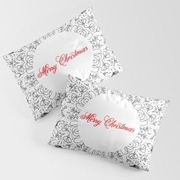 MERRY CHRISTMAS Pillow Sham