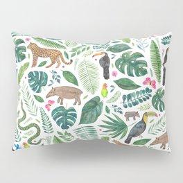 Jungle/Tropical Pattern Pillow Sham