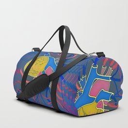 Pop Heart Duffle Bag
