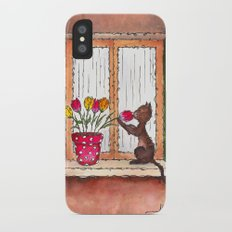 Smells of Spring iPhone X Slim Case