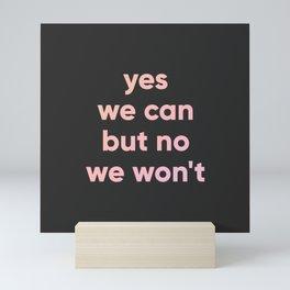 motto Mini Art Print