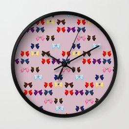Sailor Ribbons Wall Clock