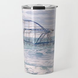 Jet Coaster Full Closeup Travel Mug