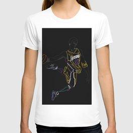 Neon Los Angles Basketball Legend T-shirt