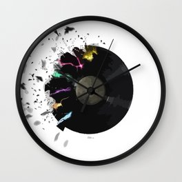 Time of music Wall Clock