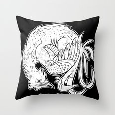 Rooster Print Throw Pillow