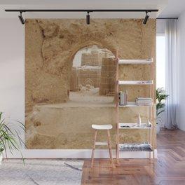 Sand Castle Inside Wall Mural
