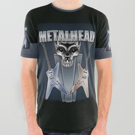 Metalhead All Over Graphic Tee