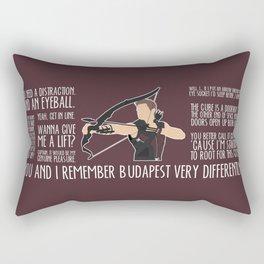 The Archer Rectangular Pillow