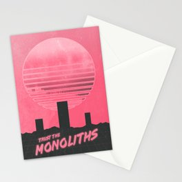 Monolithic Trust Stationery Cards
