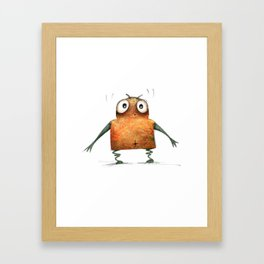 Undroid Robot Framed Art Print