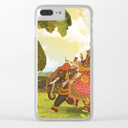Royal trip at the time of Mughal era Clear iPhone Case