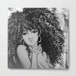 GoldenGirl Metal Print