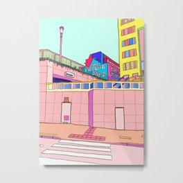 Urban Brussels - The Future is ... Metal Print