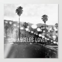 Los Angeles lover number 2 Canvas Print