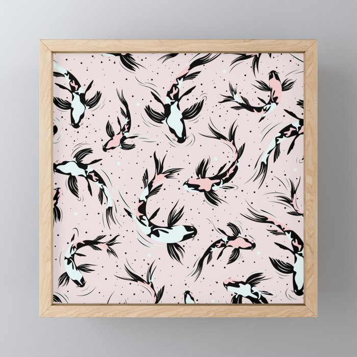Koi Fishes I. Framed Mini Art Print